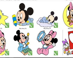 kit papel scrap digital baby disney