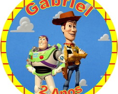 TAG OU R�TULO TOY STORY