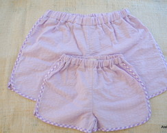 Kit Short M�e e Filha N�M,4