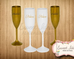 Kit de Ta�as Acr�lico Casamento