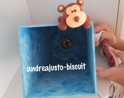 KIT MATERNIDADE DECORADO COM BISCUIT