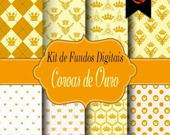 Kit Digital - Coroas de Ouro