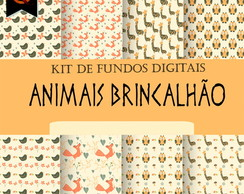 Kit Digital - Animais Brincalh�o