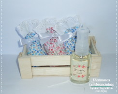 Kit Sach� Perfumado + Spray