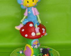 Topo de bolo Fifi e os floriguinhos