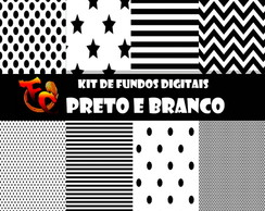 Kit Digital - Preto e Branco