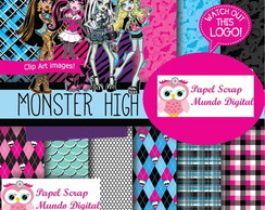 papel digital 23-11 monster high