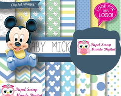 papel digital 23-16 mickey baby