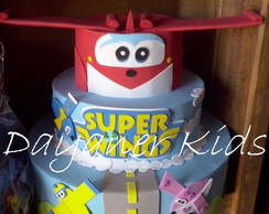 Bolo falso em E.V.A Super Wings