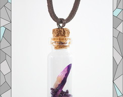 Hidden Purple Treasure Necklace