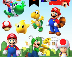 Kit Digital PNG - Super Mario