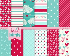 papel digital 14-20 love cora��o