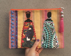 Clutch �tnica Lil�s Africanas