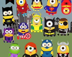 Kit Digital PNG - Super Minions