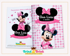 Minnie Rosa - Revista para Colorir