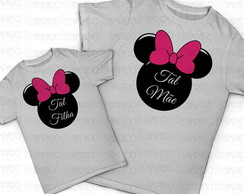 Kit de camisetas - Cabe�a Minnie