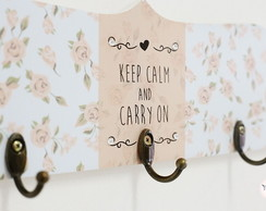 "Porta Chaves ""Keep Calm and Carry On"""