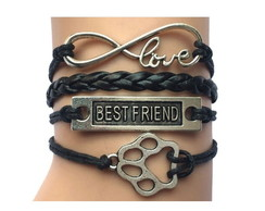 Pulseira Best Friend Love Infinito Patas