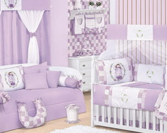 Kit Ber�o + Cama Bab� 18 Pe�as