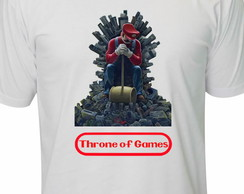 Camisetas Game Of Thrones Mario
