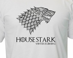 Camiseta Game Of Thrones House Stark