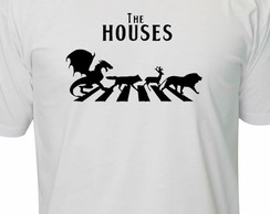 Camiseta Game Of Thrones The Houses