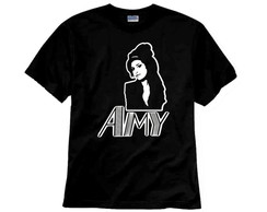 Camiseta de Rock Amy Winehouse