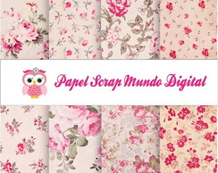 papel digital floral shaby chic 16-16