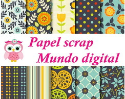 papel digital vintage 17-9