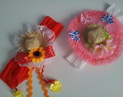 Headband Festa Junina Beb�
