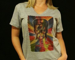Camisa David Bowie Colours