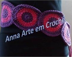 Cintos de Croch� - Roxo e Pink