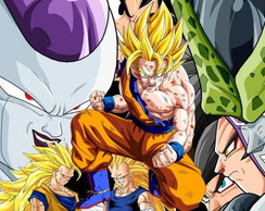 Painel Dragon Ball Z 1,5mx1,0m (mod6)