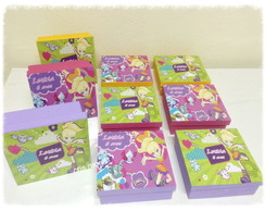 Caixas lembran�as Polly Pocket