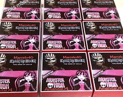 Caixas lembran�as Monster High