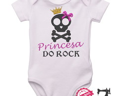 Body Personalizado Princesa do Rock