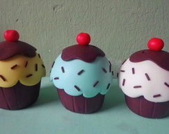 Biscuit cupcake decorativo