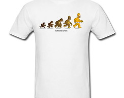 Camiseta Homer Evolution