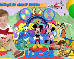 Arte Digital Banner Disney