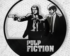 Pulp Fiction - Quadro de Vinil