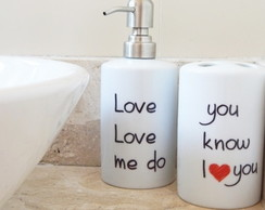 Kit de Lavabo Bea.tles Love love me do