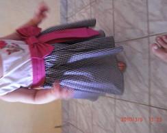 Lindo vestido de festa tam. 1 ate 4 anos