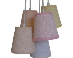 Lustre Pendente Cacho Soft Colors