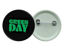 Botton 3,5 - Green Day Botons Rock