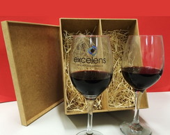 Kit 02 ta�as Vinho