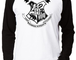 Camiseta Raglan Harry Potter #1 Casas