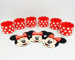 Kit Cachepot Minnie