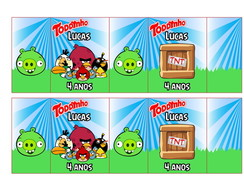 R�tulo Toddynho - Angry Birds