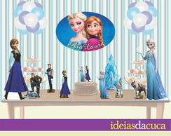 Kit Festa Decora��o Completa Frozen