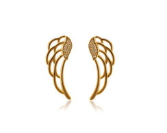 Semi-j�ias brinco ear cuff